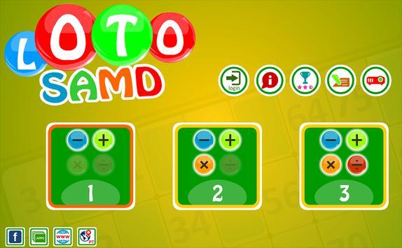 Loto SAMD, puzzle game. poster