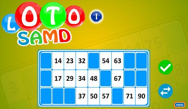 Loto SAMD, puzzle game. screenshot 1