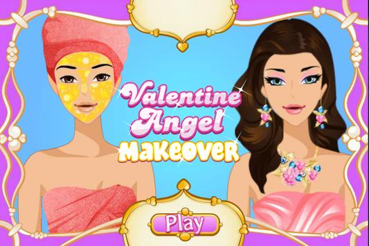Valentine Angel Makeover poster