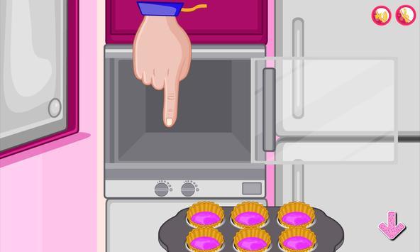 Bake multi colored cupcakes screenshot 4