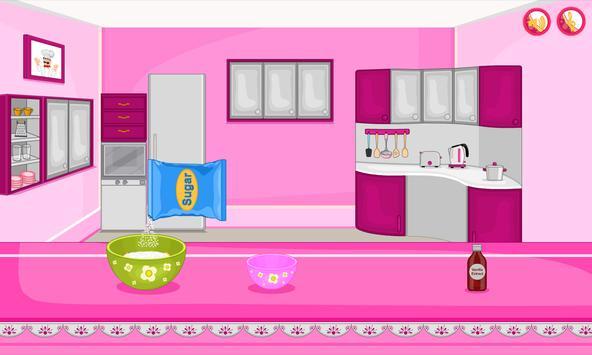 Bake multi colored cupcakes screenshot 13