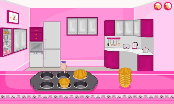 Bake multi colored cupcakes screenshot 10