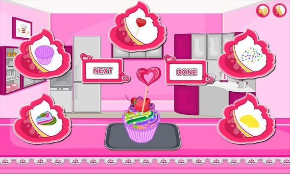Bake multi colored cupcakes screenshot 14