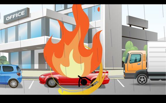 Stickman Deadly Parking screenshot 1