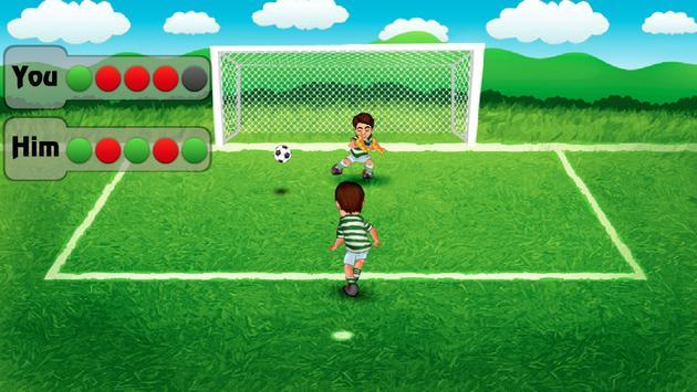 Penalty Kick Soccer Challenge apk screenshot