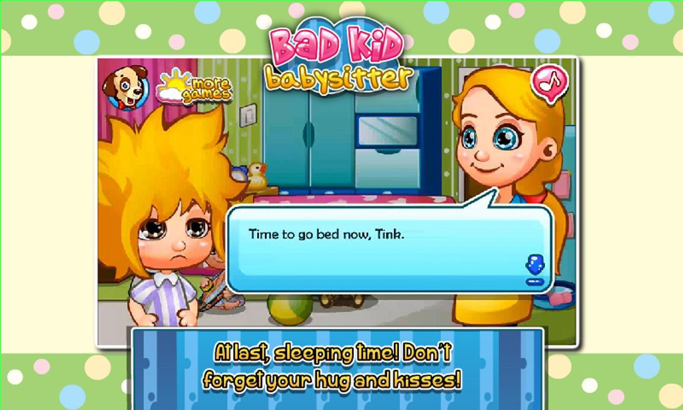 Bad Kid Babysitter Go Girl Games