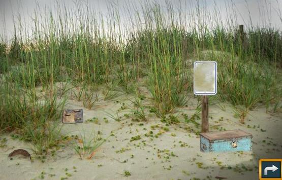 Escape Puzzle: Abandoned Beach screenshot 2