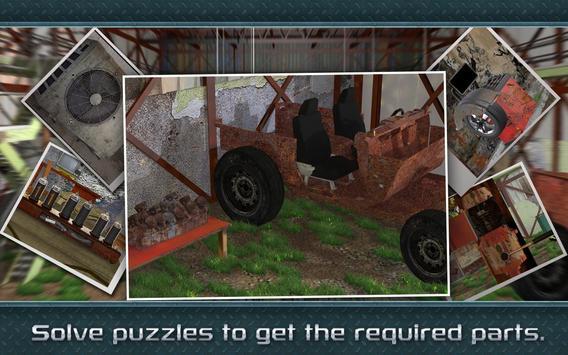Escape Puzzle: Car Mechanic screenshot 4