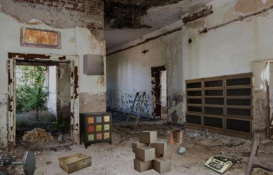 Escape Puzzle: Dilapidated House poster