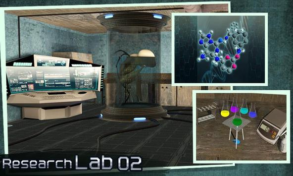 Escape Puzzle: Research Lab 2 screenshot 2
