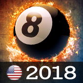 (US) 8 ball game - With Offline icon