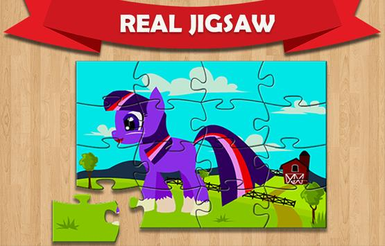 Pony Real Jigsaw Puzzle poster
