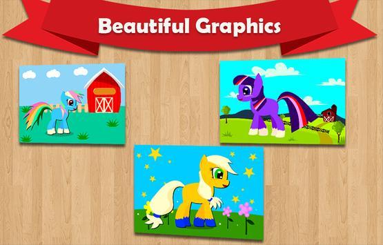 Pony Real Jigsaw Puzzle screenshot 1