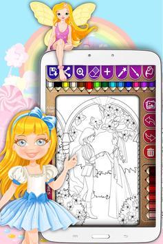 Princess Coloring Games apk screenshot