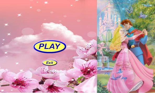 Princess jigsaw puzzle beauty poster