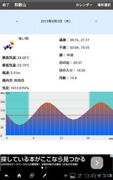 潮汐情報 apk screenshot