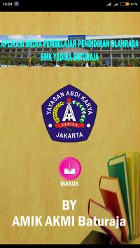 SMK Yadika Baturaja Olahraga poster