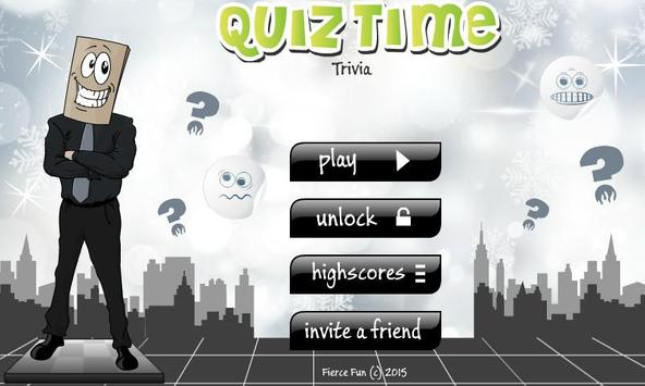 Quiz Time Trivia poster