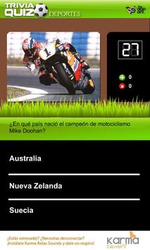 Trivia Quiz Deportes apk screenshot