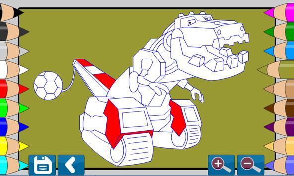 Dino Robot Makine Boyama Oyunu For Android Apk Download
