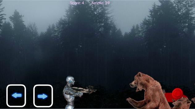 Robots vs bears screenshot 2