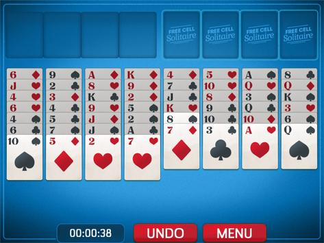 FreeCell Solitaire screenshot 13