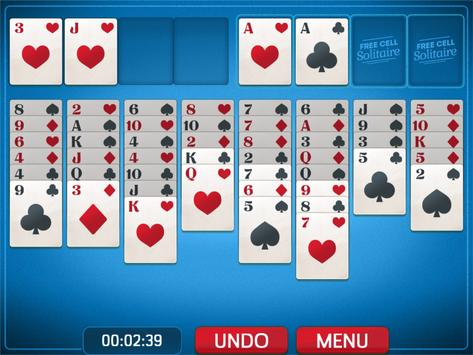 FreeCell Solitaire screenshot 2