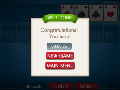 FreeCell Solitaire screenshot 3