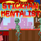 Stickman mentalist. School evil. Monday icon