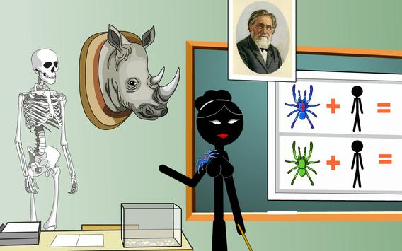 Stickman mentalist. School evil. Monday screenshot 3