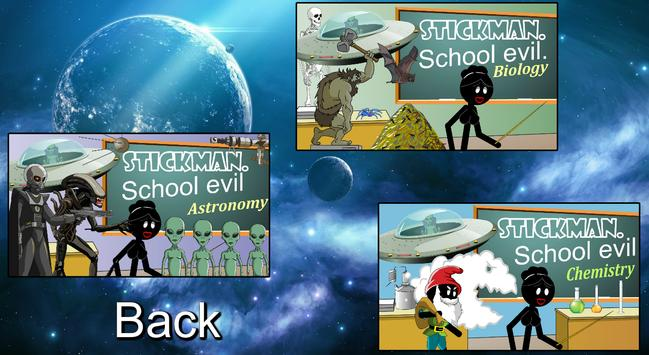 Stickman mentalist. School evil. Monday screenshot 2