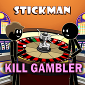 Stickman Mentalist Kill Shark icon