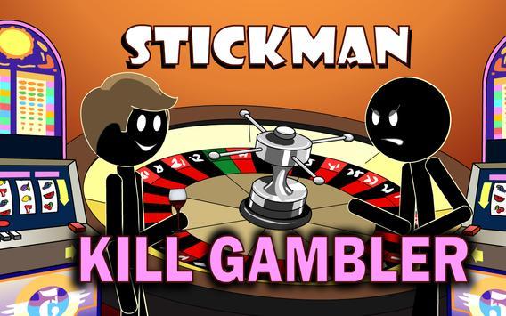 Stickman Mentalist Kill Shark poster