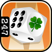 St. Patrick's Day Backgammon icon