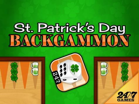St. Patrick's Day Backgammon screenshot 5