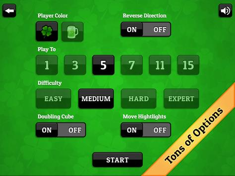 St. Patrick's Day Backgammon screenshot 13