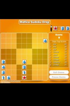 Matica Sudoku Drops poster