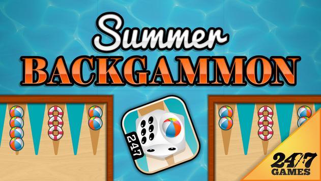 Summer Backgammon poster