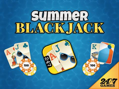 Summer Blackjack screenshot 5