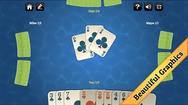 Summer Spades screenshot 1