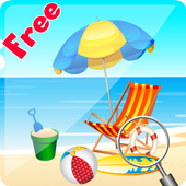Hidden Object : Summer beach icon