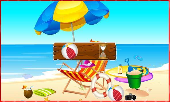 Hidden Object : Summer beach apk screenshot