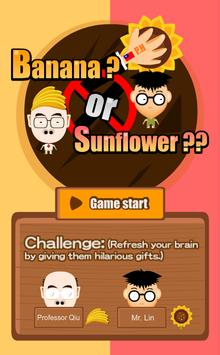 Banana or Sunflower? apk screenshot