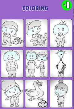 educational coloring game screenshot 1