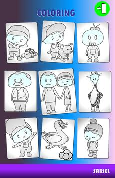 educational coloring game screenshot 2