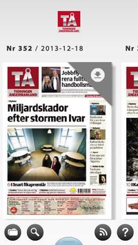 Tidningen Ångermanland e-tidn poster