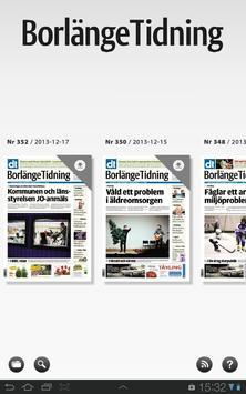 Borlänge Tidning e-tidning apk screenshot