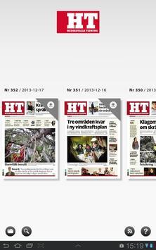 Hudiksvalls Tidning e-tidning apk screenshot