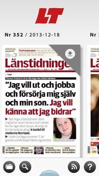 LT Östersund e-tidning poster
