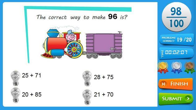 Second Grade Maths apk screenshot